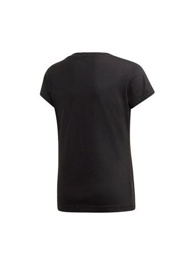 adidas Yg E Lin Tee Kız Çocuk Kısa Kol T-Shirt Siyah